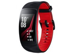 Фітнес браслет Samsung Gear Fit 2 Pro Red small (SM-R365NZRNSEK) Android, iOS, Super AMOLED, GPS, ак