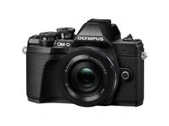 Цифровий фотоапарат OLYMPUS E-M10 mark III Pancake Zoom 14-42 Kit black/black (V207072BE000) Live MO