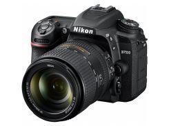 Цифровий фотоапарат Nikon D7500 18-105VR Kit (VBA510K001) КМОП (CMOS), 23.5 х 15.7 мм, 20.9 Mpx, f/3