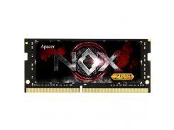 "Модуль пам""яті для ноутбука SoDIMM DDR4 8GB 2666 MHz NOX Series Apacer (ES.08G2V.GGE) DDR4, 8 GB, 1,"
