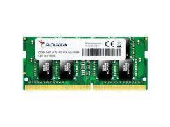 Модуль памяти для ноутбука SoDIMM DDR4 4GB 2400 MHz ADATA (AD4S2400J4G17-S)