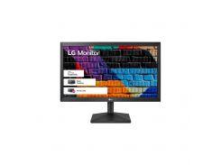"""Монітор LG 20MK400A-B 19.5"""", TN, 1366 x 768, 16:9, 5мс, 0.317, VGA, 75х75 мм, чорний"""