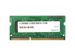 """Модуль пам""""яті для ноутбука SoDIMM DDR3L 4GB 1600 MHz Apacer (AS04GFA60CATBGJ) DDR3, 4GB, 1, 1600 МГ"""