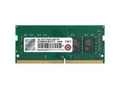 """Модуль пам""""яті для ноутбука SoDIMM DDR4 4GB 2400 MHz Transcend (JM2400HSH-4G) DDR4, 4GB, 1, 2400 MHz"""