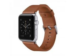 Belkin Classic Leather Band for Apple Watch 38mm Grey