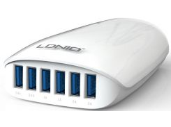 LDNIO Charger A6573 6USB 5,4A White