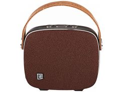 Remax RB-M6 Desktop Speaker Brown