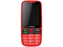 Sigma mobile Comfort 50 Elegance Red