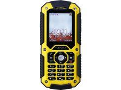 Sigma mobile X-treme PQ67 Yellow-Black