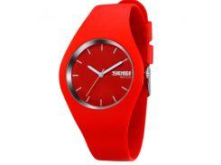 Женские часы Skmei Rubber Red 9068R