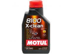 Motul 8100 X-clean 5W-40 1л.