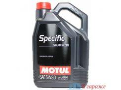 Motul Specific 504 00/507 00 5W-30 5л.