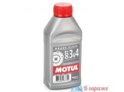 Motul DOT 3 & 4 Brake Fluid 1л.