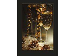 Набор картина стразами Crystal Art Праздничный вечер КС-1036