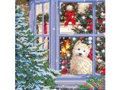 Схема для вышивки бисером «Рождественская история»