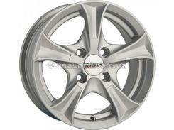 Литые диски Disla Luxury 506 6.50x15/5x100 D57.1 ET35 (Silver)