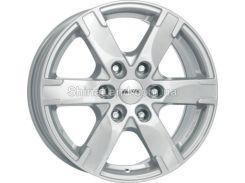 Литые диски Alutec Titan 7.50x17/6x139.7 D93.1 ET55 (Polar Silver)
