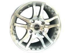 Литые диски PDW 527 MS 6.50x15/4x100 D73.1 ET38 (Metallic Silver)