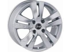 Литые диски PDW 561 S 6.50x15/5x114.3 D73.1 ET40 (Silver)