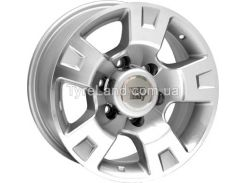 Литые диски WSP Italy W1808 Salina 4x4 8.00x16/6x139.7 D110.1 ET10 (Silver Polished)