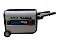 Генератор Zunker 7,1 кВт трехфазный, электростарт, бензиновый