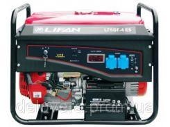 Генератор Lifan LF5GF-4ES BF 5 кВт однофазный, электростарт, газ/бензин