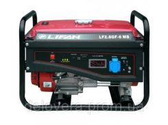 Генератор Lifan LF2.8GF-6MS BF 2,8 кВт однофазный, ручной старт, газ/бензин