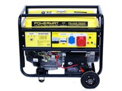 Генератор Powermat 7,5 кВт, трехфазный, электростарт