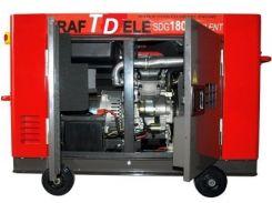 Генератор KraftDele 14,4 кВт, трехфазный, электростарт, дизельный, обесшумленый