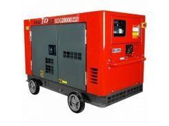 Генератор KraftDele 22 кВт, дизельный