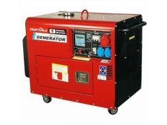 Генератор Kraftdele 9.8 кВт Germany, дизельный с АТС трехфазный
