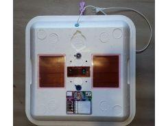 """Инкубатор """"Рябушка-2"""" 40 яиц, цифровой, автомат, таймер, вентилятор"""