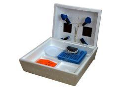 Инкубатор Наседка-120 (72), ручной переворот, цифровой, литой пенопластовый корпус, 4 лампочки