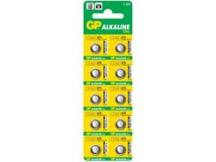 Батарейка G13 GP Alkaline 1,5V, 10 шт.