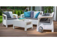 Набор садовой мебели CURVER CORFU SET, серый
