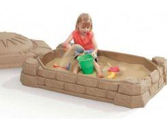 Детская песочница с крышкой Забава Step2 7220