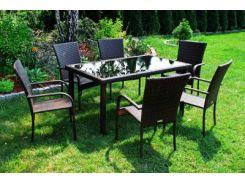 Набор мебели SG-SANTOS SAPPHIRE, стол+ 6 стульев