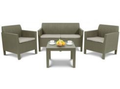 Набор садовой мебели ORLANDO, серый