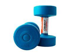 Гантели с пластиковым покрытием 3 кг LiveUp CEMENT DUMBELL LS2003-3
