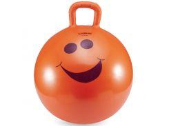 Детский фитбол с ручкой LiveUp HOPPING BALL 45 см + насос