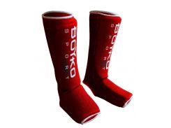 Захист гомілки і стопи Бойко-Спорт, Панчоха, розмір XL, червоний