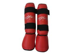Захист голеностопу, Бойко-Спорт, червоний, розмір XL