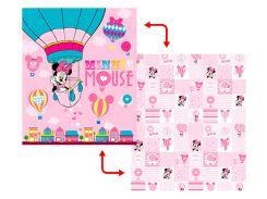 """Детский двухсторонний коврик для девочек """"Minnie Mouse""""  1800х1500х10 мм"""