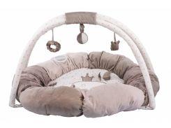 Nattou Килимок розвиваючий з дугами і подушками Макс, Ноа і Том