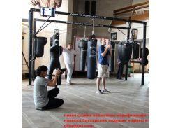 Стійка для боксерських мішків професійна на 2 балку