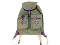 Рюкзак охотника малый, плоский с кожаными шлеями на 30 л.