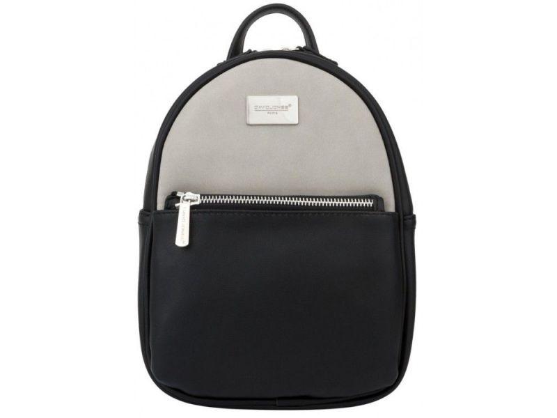 ccbc6b62c0d8 Рюкзак женский серый с черным David Jones арт. US298 купить недорого ...