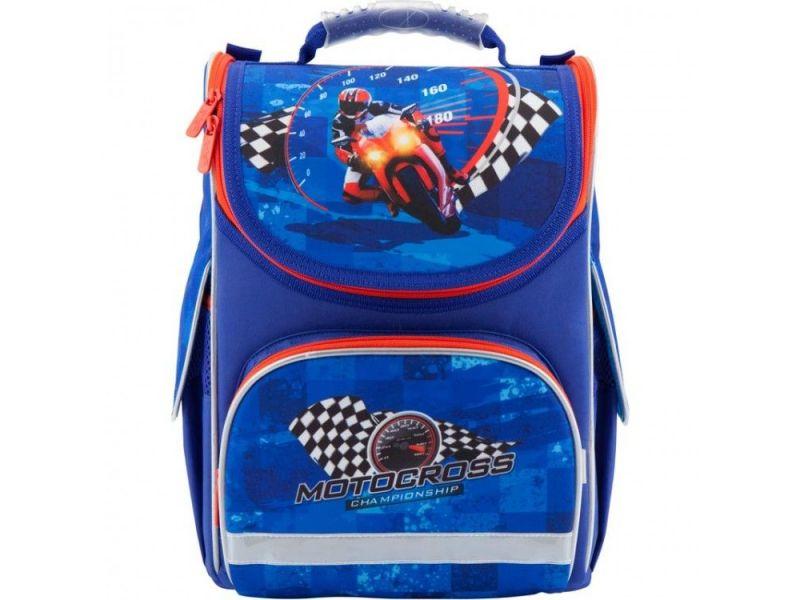 56ea0445a336 Ранец школьный каркасный Motocross Kite арт. K18-501S-4 купить ...