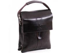 Стильная сумка через плечо на три отделения  Gorangd арт. 8800-3Brown