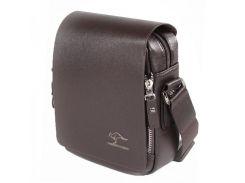 Компактная сумка коричневого цвета  Traum арт. 7171-02